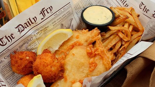 fish chips abbimanento goldflex