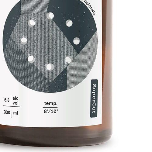 super cut black IPA etichetta